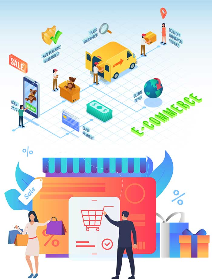eCommerce Website and Mobile App Development Company in India & USA